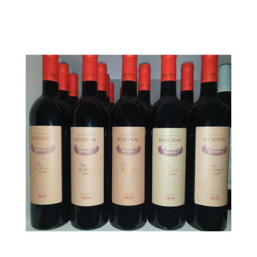 Vertical Grand Vin de Reignac 2013 - 2017 (5 Gfs)