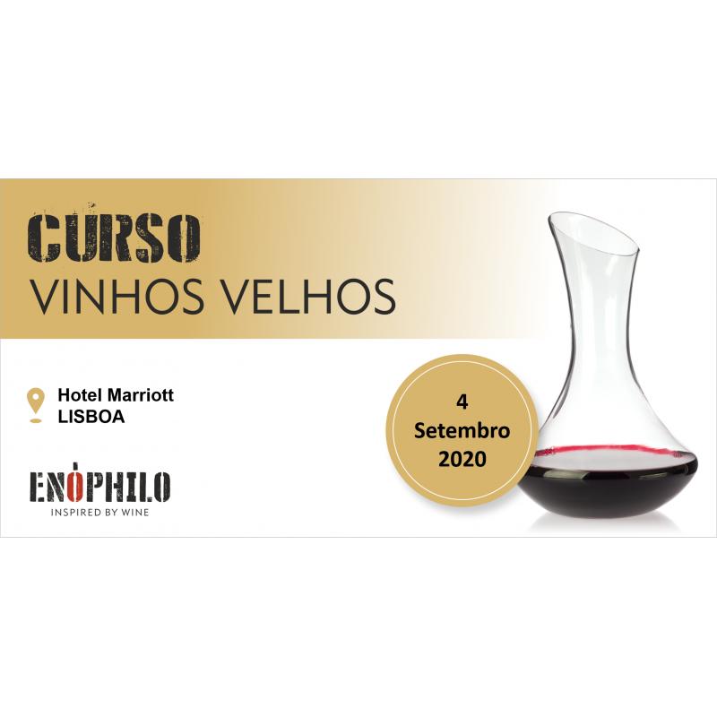 Curso de Vinhos Velhos (Lisboa): 4 de Setembro de 2020