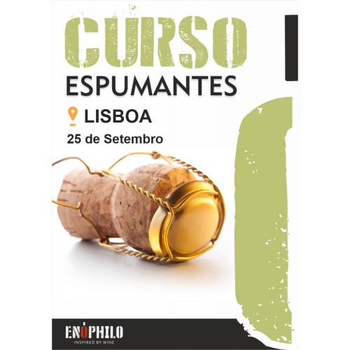 Curso de Espumantes (Lisboa): 25 de Setembro de 2020