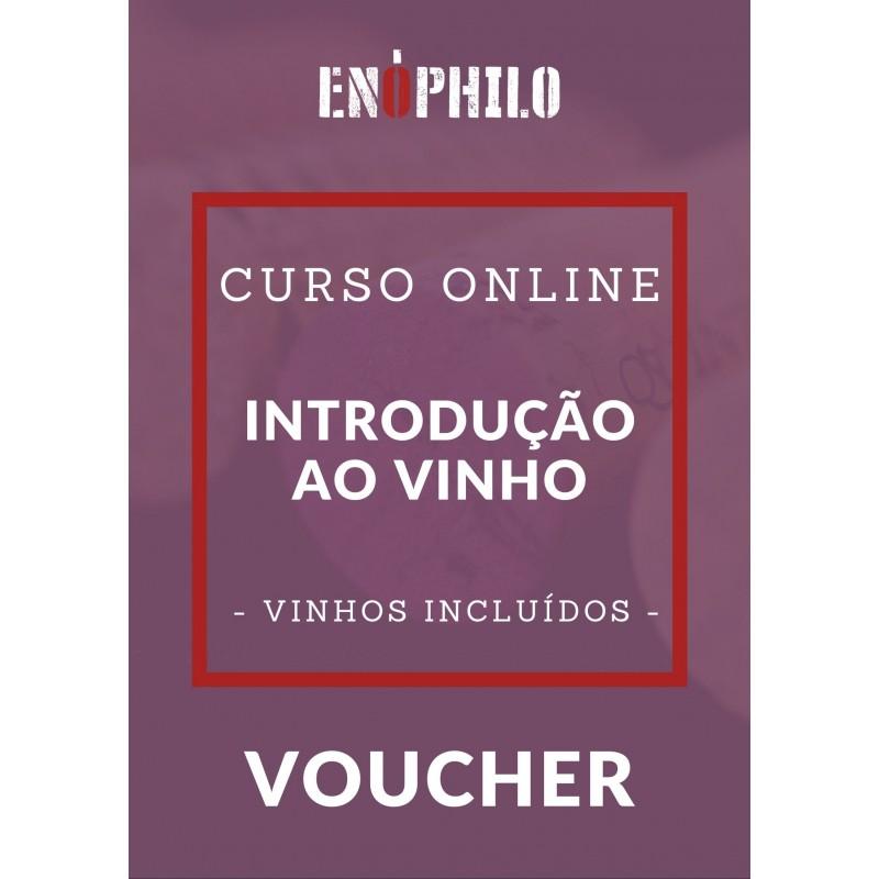 Voucher Curso Online (Vinhos Incluídos) - Introdução ao Vinho