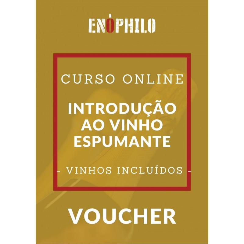 Voucher Curso Online (Vinhos Incluídos) - Introdução ao Vinho Espumante