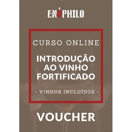 Voucher Curso Online (Vinhos Incluídos) - Introdução ao Vinho Fortificado