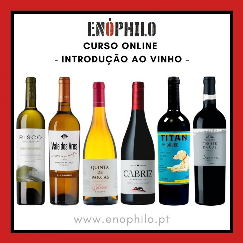 Curso Online (Vinhos Incluídos) - Introdução ao Vinho (10, 17 e 24 de Novembro)