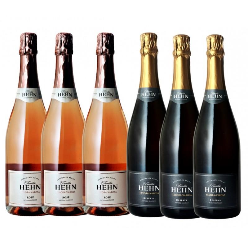 Família Hehn - Pack 3 Reserva + 3 Rosé