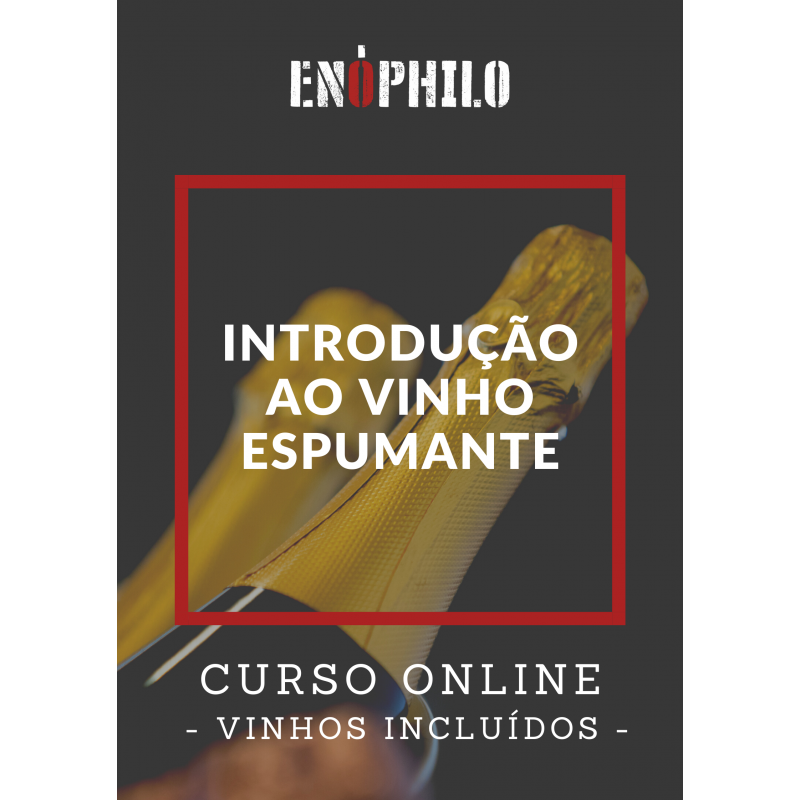 Curso Online (Vinhos Incluídos) - Introdução ao Vinho Espumante (4 e 11 de Fevereiro)