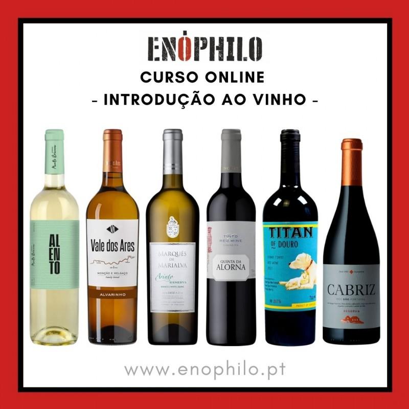 Curso Online (Vinhos Incluídos) - Introdução ao Vinho (12, 19 e 26 de Maio)