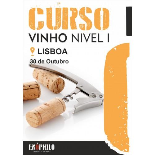 Curso de Vinho Nível I (Lisboa): 30 de Outubro de 2021
