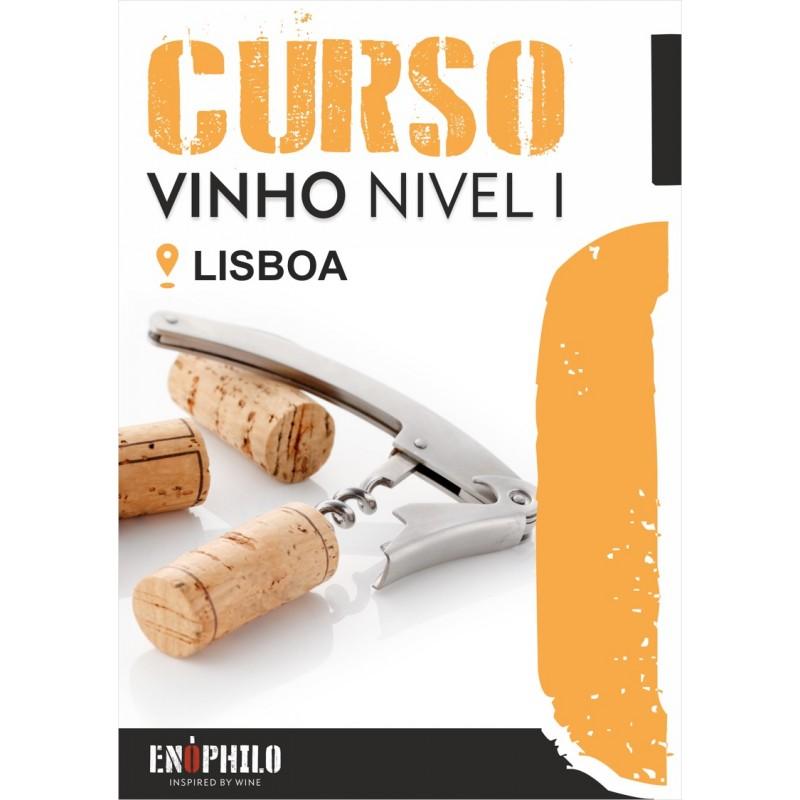 Curso de Vinho Nível I (Lisboa): 10 de Novembro de 2018