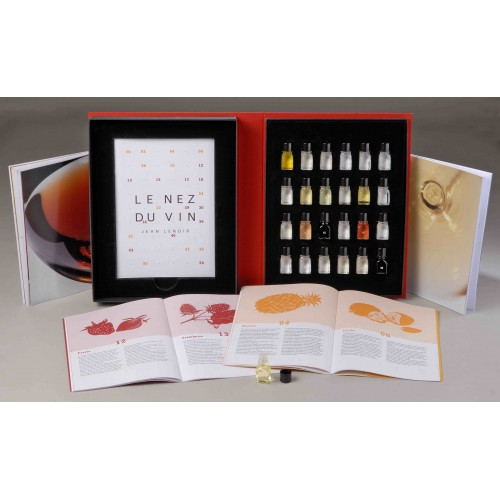 Le Duo vins Blancs & Rouges - Kit 24 Aromas (Inglês)