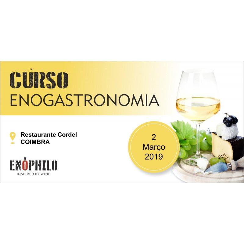 Curso de Enogastronomia (Coimbra): 2 de Março de 2019
