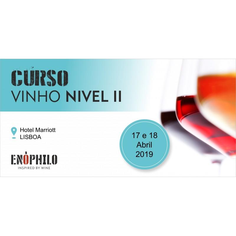 Curso de Vinho – Nível II (Lisboa): 17 e 18 de Abril de 2019