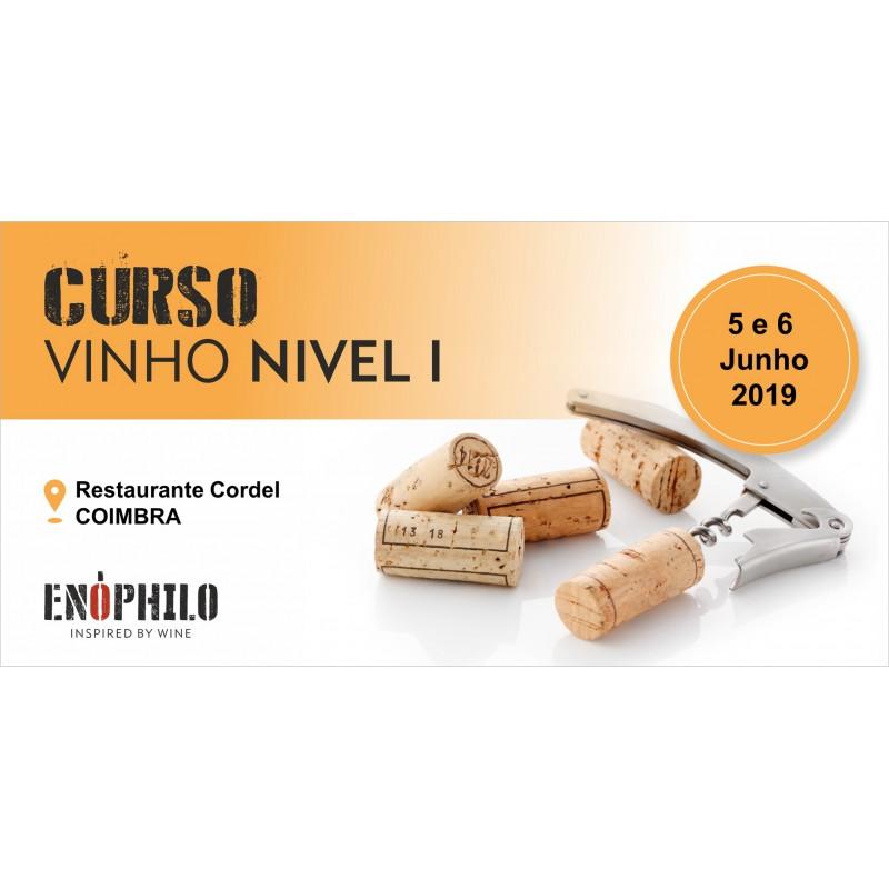 Curso de Vinho Nível I (Coimbra): 5 e 6 de Junho de 2019