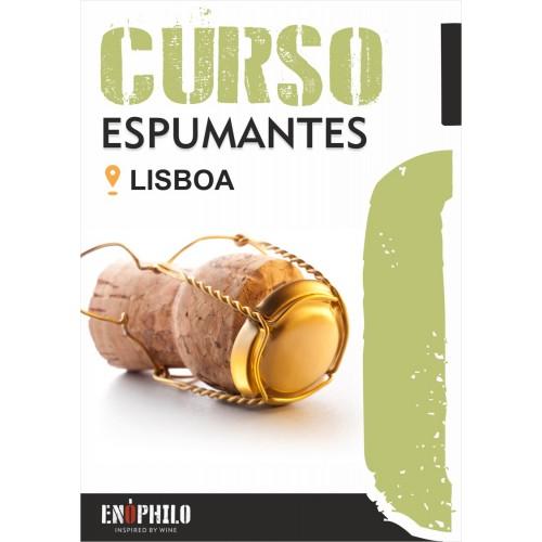 Curso de Espumantes (Lisboa): 28 de Junho de 2019