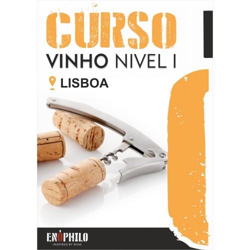 Curso de Vinho Nível I (Lisboa): 22 e 23 de Maio de 2019