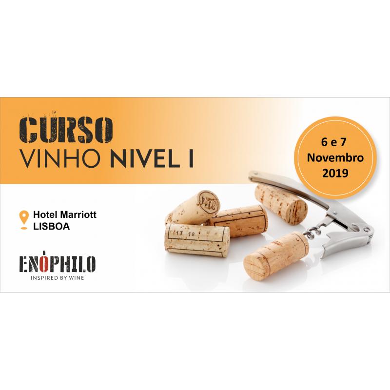 Curso de Vinho Nível I (Lisboa): 6 e 7 de Novembro de 2019