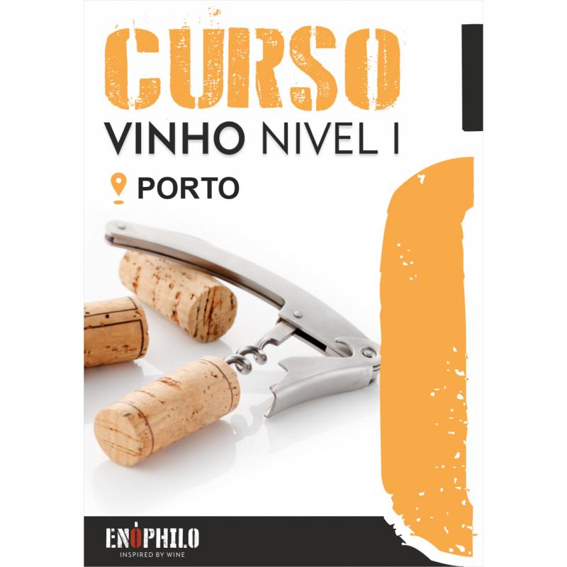 Curso de Vinho Nível I (Porto): 13 e 14 de Novembro de 2019