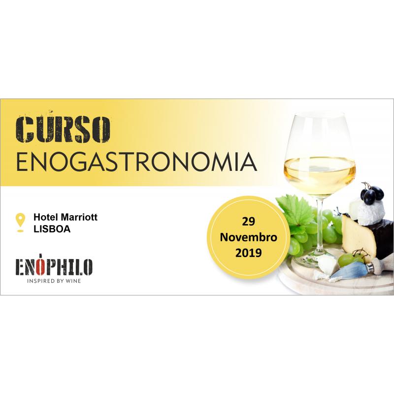 Curso de Enogastronomia (Lisboa): 29 de Novembro de 2019