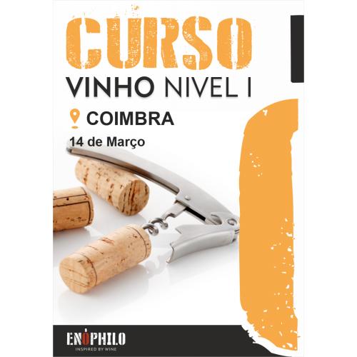 Curso de Vinho Nível I (Coimbra): 14 de Março de 2020