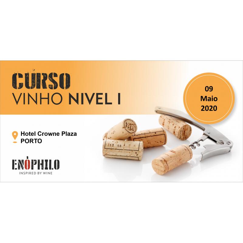 Curso de Vinho Nível I (Porto): 09 de Maio de 2020