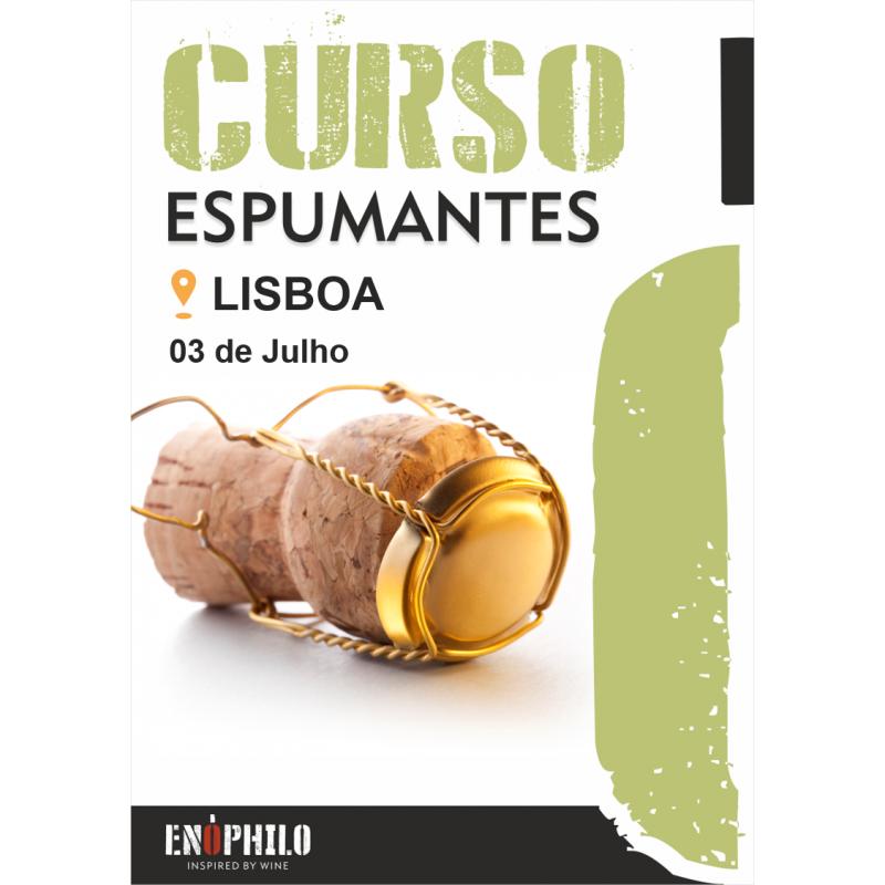 Curso de Espumantes (Lisboa): 03 de Julho de 2020