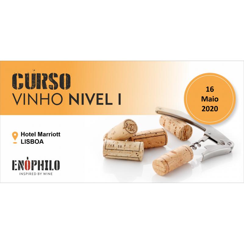 Curso de Vinho Nível I (Lisboa): 16 de Maio de 2020