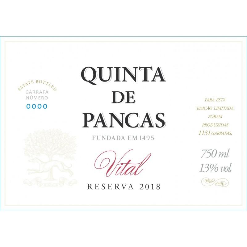Quinta de Pancas branco Reserva Vital (Caixa 6 Gfs)