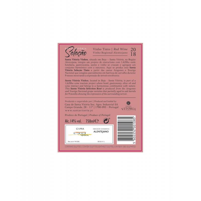 Santa Vitória Seleção tinto (Caixa 6 Gfs)