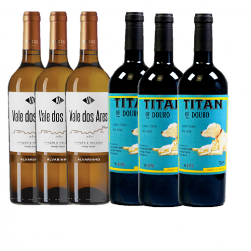 Pack Vale dos Ares (3 Gfs) + Titan of Douro (3 Gfs)
